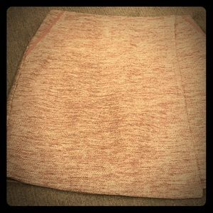 Loft Tweed Flap Design Skirt with Pockets